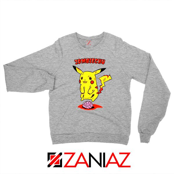 Pokemon Go Zombiechu Sport Grey Sweatshirt
