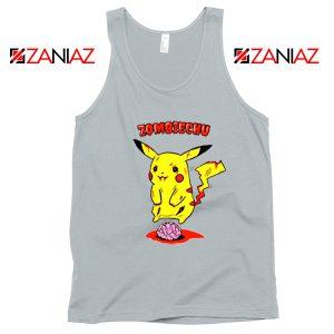 Pokemon Go Zombiechu Sport Grey Tank Top