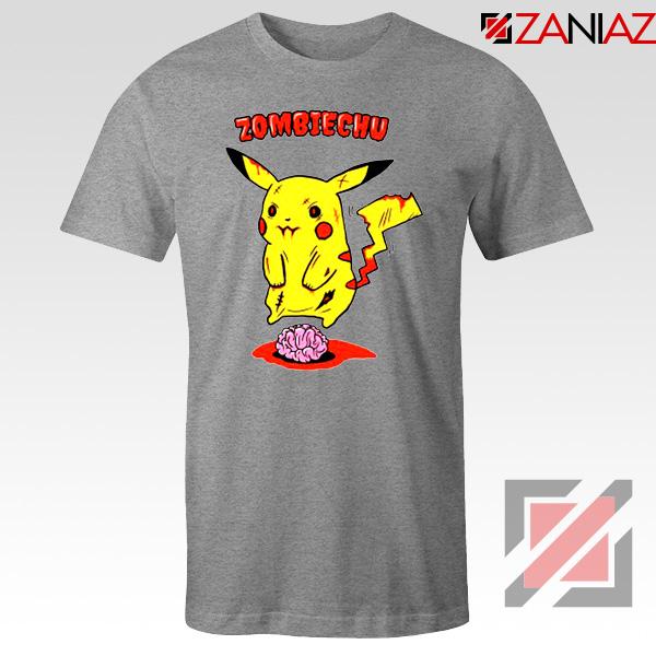Pokemon Go Zombiechu Sport Grey Tshirt