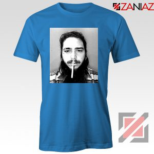 Post Malone Cigarette Blue Tshirt