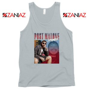 Post Malone Hollywood Grey Tank Top