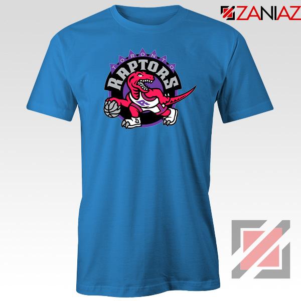 Raptors Heat Basketball Blue Tshirt