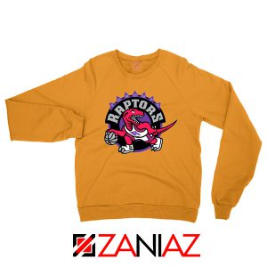 Raptors Heat Basketball Orange Sweater