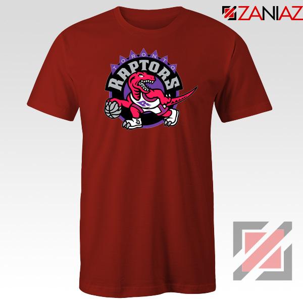 Raptors Heat Basketball Red Tshirt