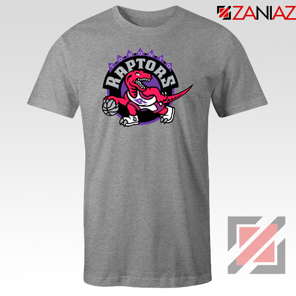 Raptors Heat Basketball Sport Grey Tshirt