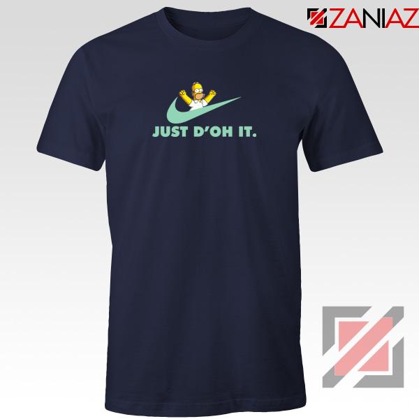Simpson Just Do It Navy Tshirt