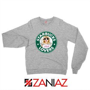Starbuck Parody Taylor Swift Grey Sweatshirt