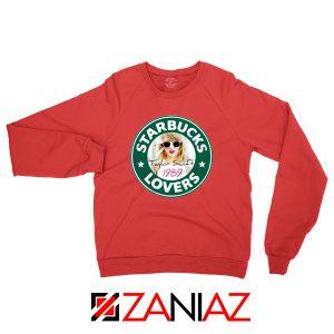 Starbuck Parody Taylor Swift Red Sweatshirt