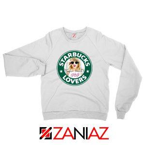 Starbuck Parody Taylor Swift White Sweatshirt