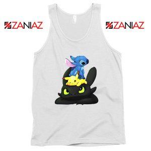 Stitch Pokemon Grinch Tank Top