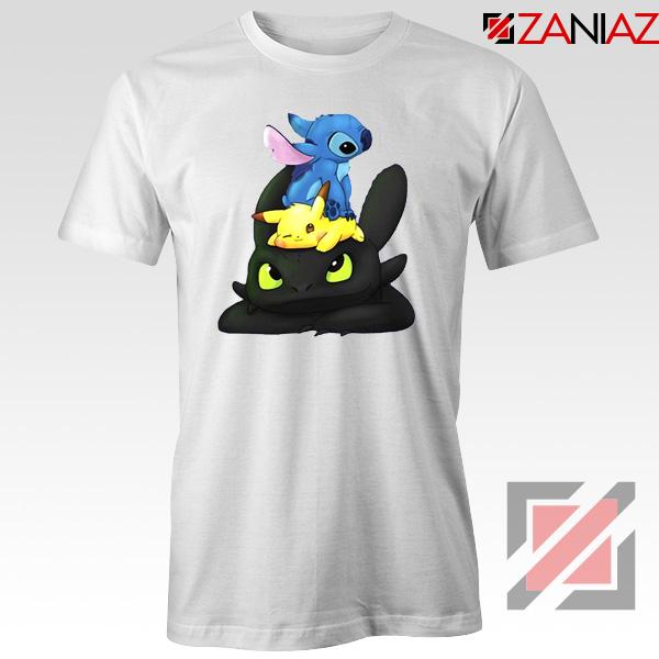 Stitch Pokemon Grinch Tshirt