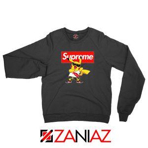 Supreme Pokemon Black Sweatshirt