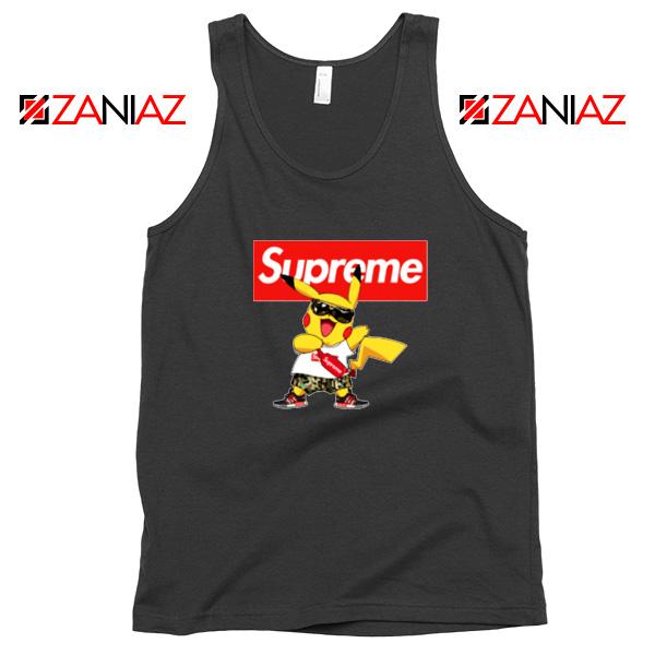 Supreme Pokemon Black Tank Top