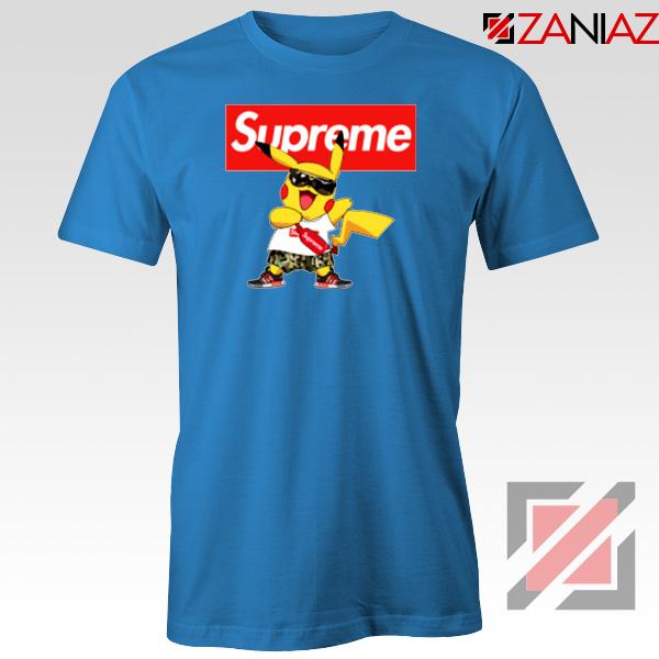 Supreme Pokemon Blue Tshirt