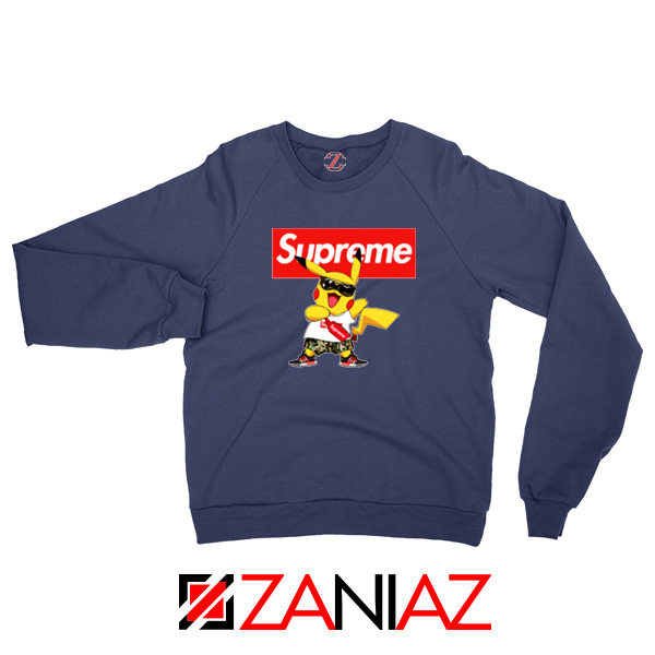 Supreme Pokemon Navy Blue Sweatshirt