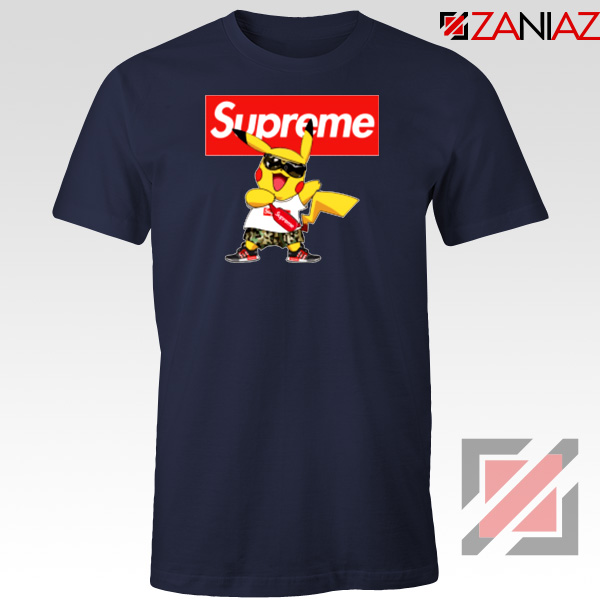 Supreme Pokemon Navy Blue Tshirt