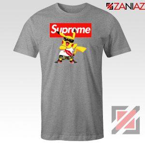 Supreme Pokemon Sport Grey Tshirt