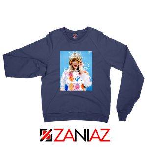 Taylor Swift Albums And Signature Navy Sweater