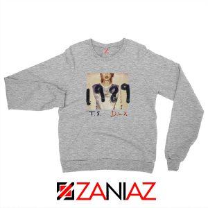 Taylor Swift Deluxe Edition Grey Sweatshirt