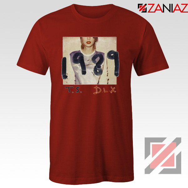 Taylor Swift Deluxe Edition Red Tshirt