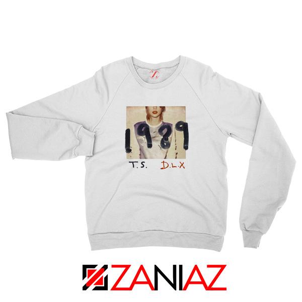 Taylor Swift Deluxe Edition White Sweatshirt