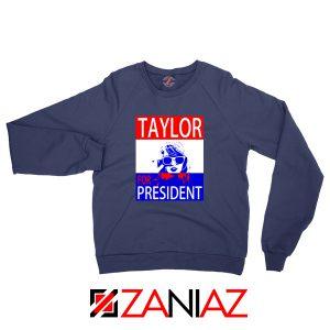 Taylor Swift For President Navy Sweatshirt