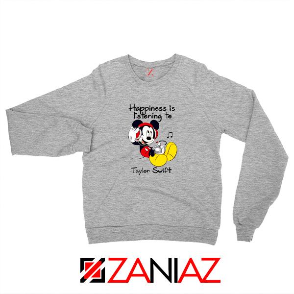 Taylor Swift Mickey Grey Sweatshirt