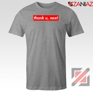 Thank U Next Lyrics Sport Grey Tshirt