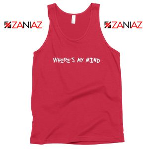 Where is My Mind Bellyache Red Tank Top