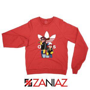Adidas Parody Stranger Things Sweatshirt
