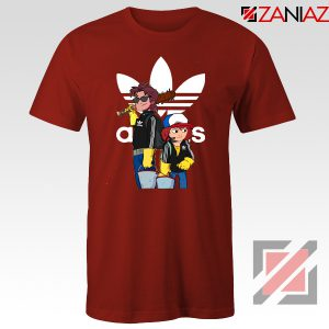 Adidas Parody Stranger Things Tshirt