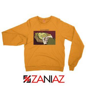 Avocado Titanic Rose Paint Orange Sweatshirt
