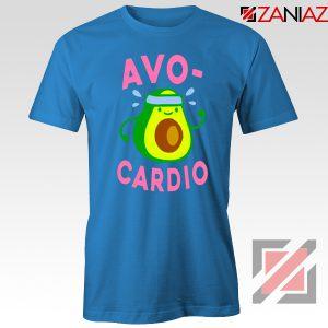 Avocardio Exercise Blue Tshirt