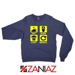 Battlegrounds Air Drop Navy Blue Sweatshirt