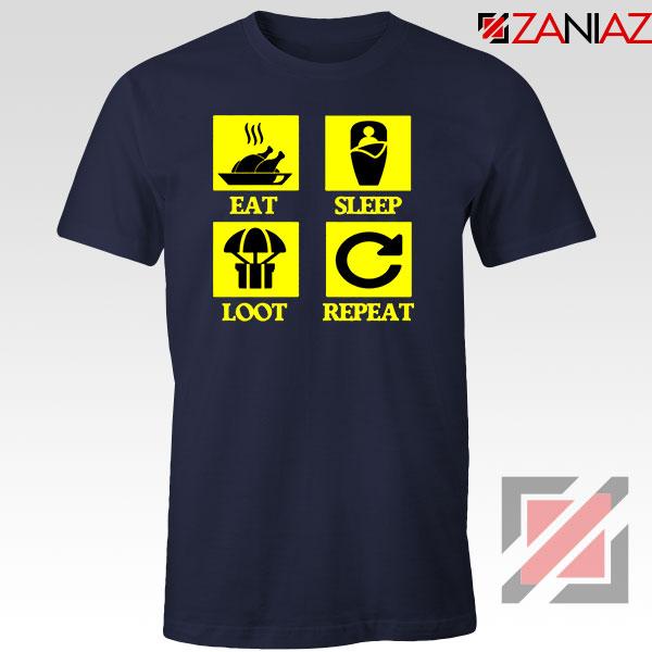Battlegrounds Air Drop Navy Blue Tshirt