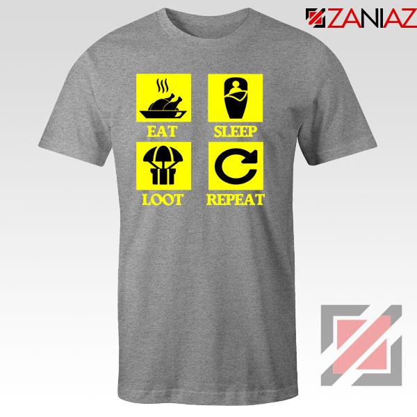 Battlegrounds Air Drop Sport Grey Tshirt