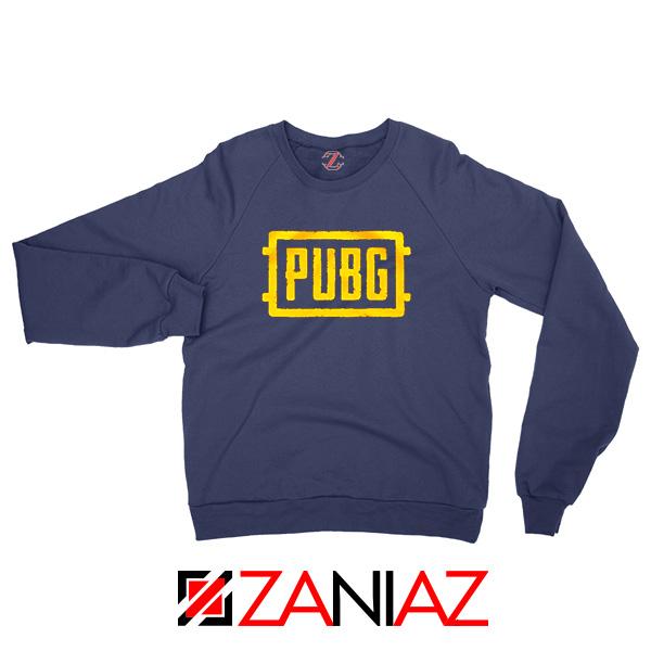Best PUBG Navy Blue Sweatshirt