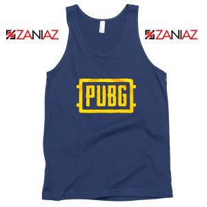 Best PUBG Navy Blue Tank Top