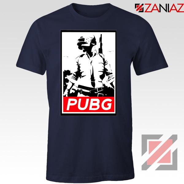 Best PUBG Printed Navy Blue Tshirt