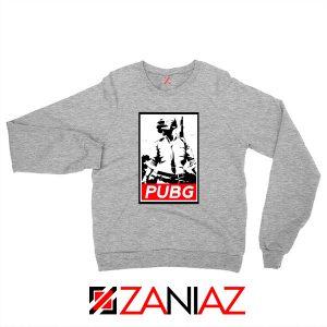 Best PUBG Printed Sport Grey Sweatshirt