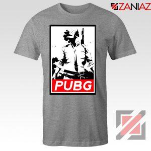 Best PUBG Printed Sport Grey Tshirt