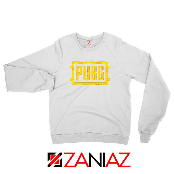 Best PUBG White Sweatshirt