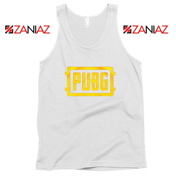 Best PUBG White Tank Top