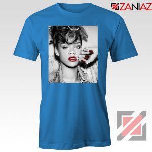 Best Rihanna Pop Singer Blue Tshirt