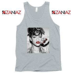 Best Rihanna Pop Singer Sport Grey Tank Top