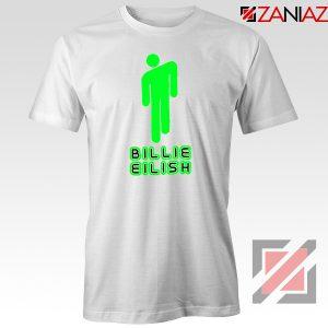 Billie Eilish Pop Singer White Tshirt