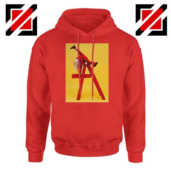 Billie Eilish Tour Red Hoodie