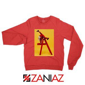 Billie Eilish Tour Red Sweater