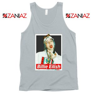 Billie Eilish Womens Sport grey Tank Top