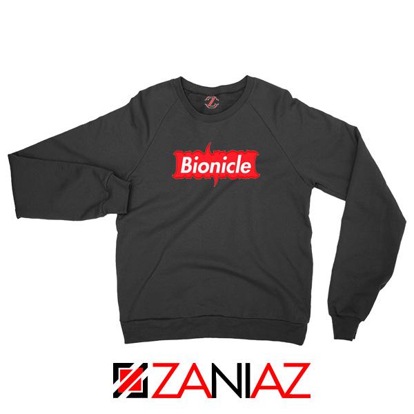 Bionicle Supreme Parody Black Sweatshirt